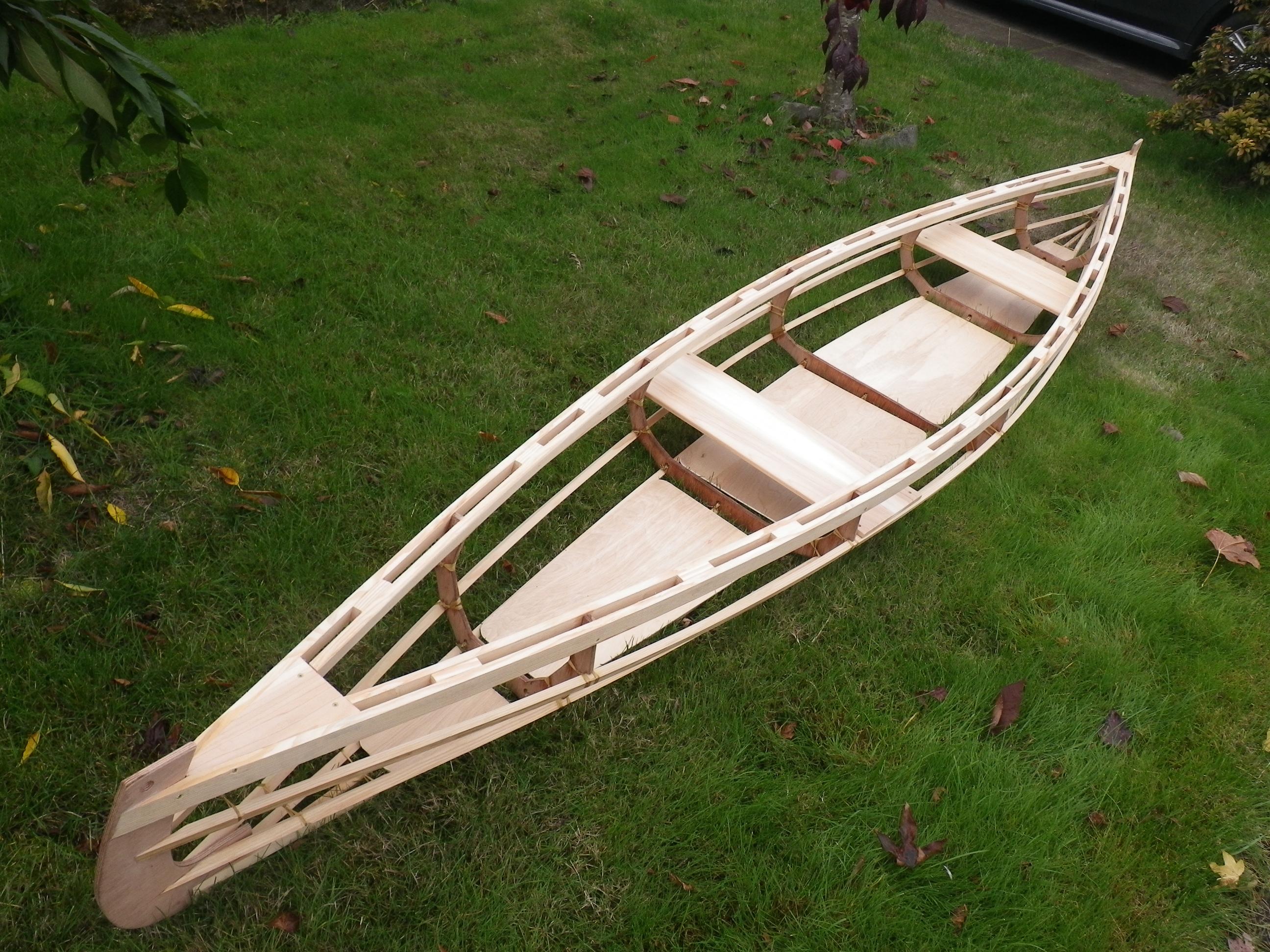 Rushton igo 15 for Plans for canoe